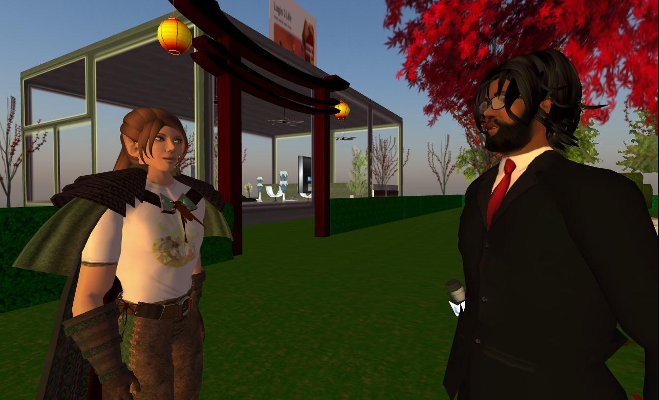 Second Life Corey Protagonist Draxtor Virtual World Linden Lab