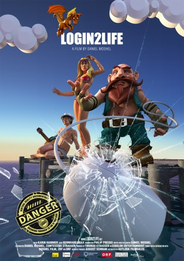 LOGIN2LIFE final Artwork/Poster